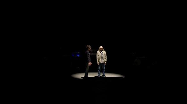 Backstage Rosendo