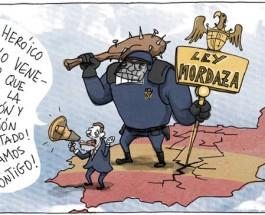 """Ley Mordaza: """"Con esta ley, dormir en un cajero puede conllevar multa"""""""