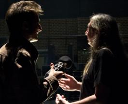 FOTOGALERÍA: con Rosendo en el backstage