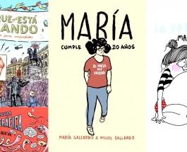 La Volátil, Miguel Gallardo y Miguel Brieva: El cómic se hace mayor