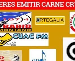 ¡¡Emite Carne Cruda en tu radio!!
